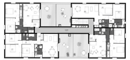5_Plan 2 ème étage