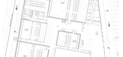 Z:GIVORS - MEGARAMA - Construction d'un cinéma multiplexe de 7